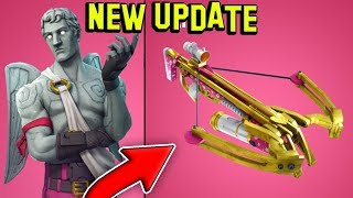*NEW* CROSSBOW WEAPON! Valentine's day Update (Fortnite Battle Royale)
