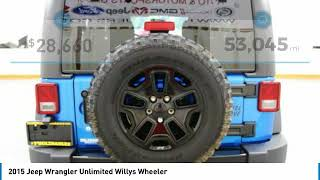 2015 Jeep Wrangler Unlimited Holzhauer Auto and Motorsports Group 538381