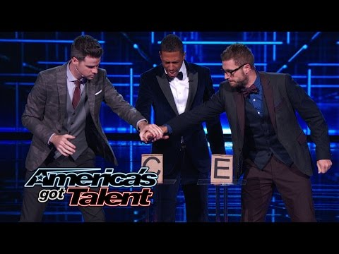 David and Leeman: Magic Act Risks It All - America's Got Talent 2014