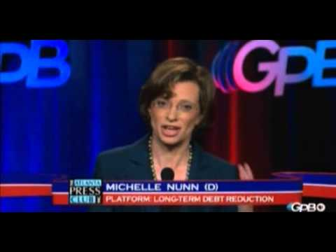 Michelle Nunn Dodges On If She Would Support Harry Reid For Democrat Leader