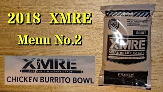 MRE Review: 2018 XMRE Menu No.2 Chicken Burrito Bowl (With Guest Reviewer Mrs. gschultz9!)