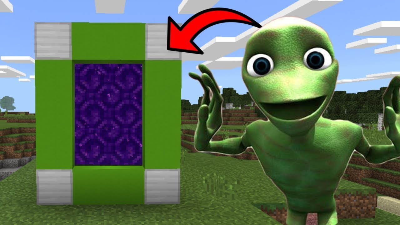 How To Make a Portal to the DAME TU COSITA Dimension in Minecraft PE