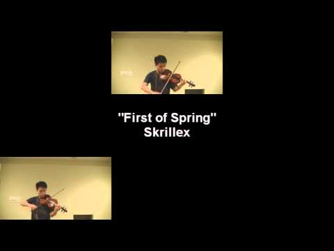 Skrillex-first Of The Year equinox (violin Cover With Drop) video