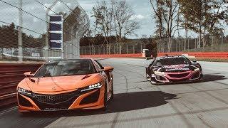 Face-off: Acura NSX vs. NSX GT3 Evo