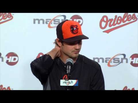 Andrew Miller shares his thoughts on joining the Orioles