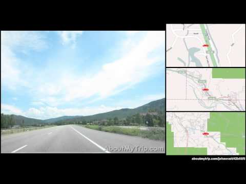 County Road 110 (Carbondale, CO) to High School Road (Aspen) via Basalt, El Jebel, Snowmass Village