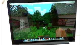 Macbook Pro Retina Display 2012 - Minecraft Test