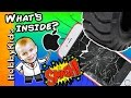 Whats Inside APPLE iPHONE! Monster Truck Smash + Cool Surpris...