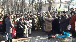 Unirea Principatelor Romane la Tecuci - 24 ianuarie 2012 - InfoTecuci.ro