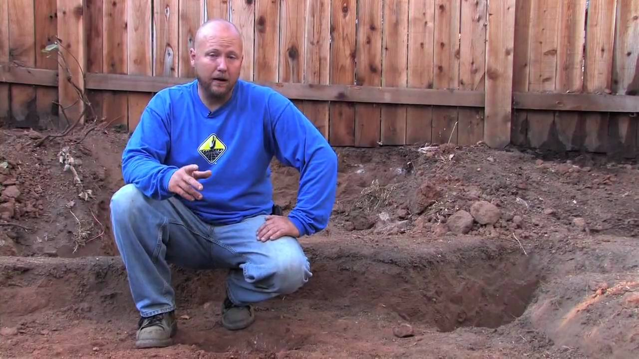 Pond Excavation And Hand Tool Tips Youtube