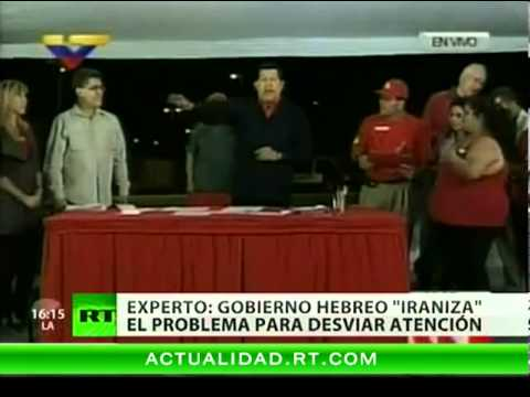 Israel acusa a Chávez de ayudar a Irán con la bomba atómica