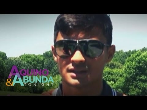 Matteo Guidicelli: 'Its not just Sarah, It is Sarah my gilfriend.'
