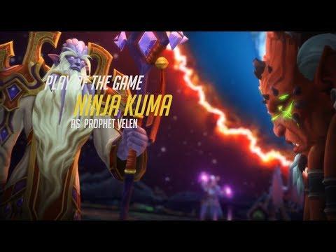 Prophet Velen Play of the Game (World of Warcraft Legion) | WoW Legion Kil'jaeden Defeat Cinematic