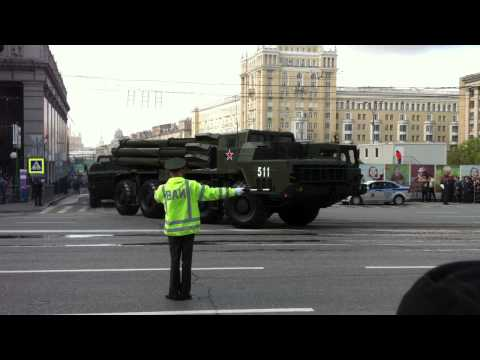 Moscow Victory Day Parade 2011 Part 1