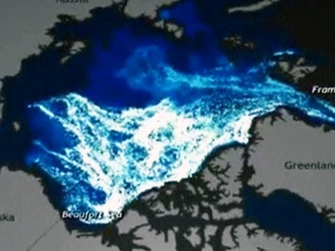 Watch: Animation of Arctic ice disappearing from 1987 to present