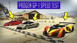 GTA V - NEW PROGEN GP1 VS T20 VS X80 PROTO - DRAG RACE