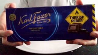 Fazer's Milk Chocolate with Turkish Pepper Review