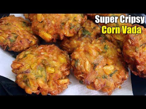 మొక్కజొన్న వడలను ఇలా prepare చేసుకొని తింటే చాలా రుచిగా వస్తాయి || Tasty Corn Vada
