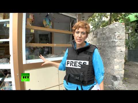 GRAPHIC: RT reporter in Donetsk, E. Ukraine after night of heavy shelling
