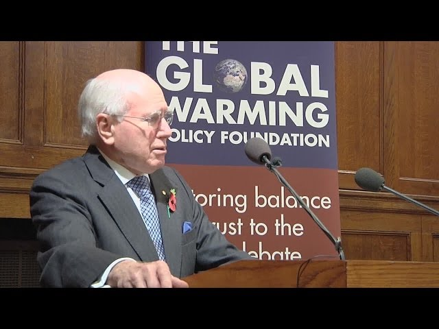 The 2013 Annual GWPF Lecture - John Howard