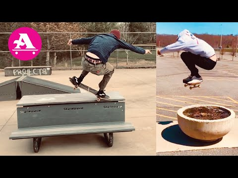 ALL I NEED SKATE: SKATEPARK with KEVIN, KICKED OUT with GOONAN & BILLY DROWNE BUILT A SKATEBOX