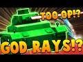 THREE LEVEL 100 HUNDRED PLAYERS USING GOD RAYS!?   SHELLSHOCK LIVE SHOWDOWN!