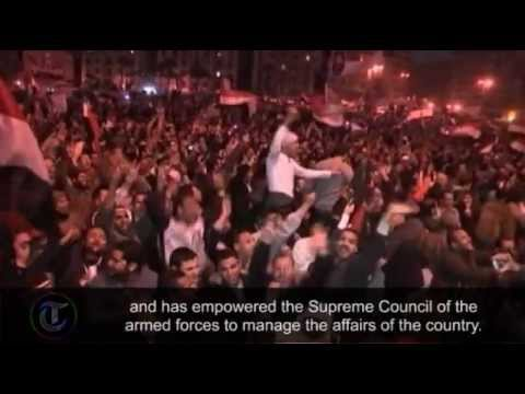 Egypt uprising anniversary: The fall of President Hosni Mubarak