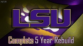 The Next SEC Dynasty? | LSU 5-Year Rebuild | NCAA Football 14 (16/126)