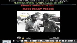 Can't stop laughing    Funny Nigeria videos