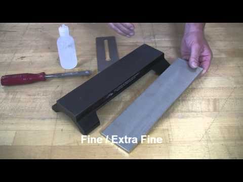 Video of 12-inch Double-Sided Dia-Sharp® MagnaBase Sharpening System