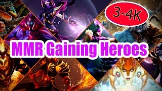 Top 10 Best heroes to increase MMR in the 3-4K skill Bracket (Patch 7.01)