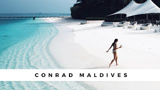 Conrad Maldives Vlog - The Dreamiest Hotel - Watch to the end for the full magic