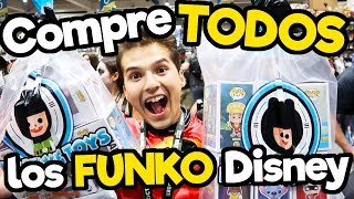 Compre TODOS los Funko POP Disney en Comic Con/ (MEGA CONCURSO)/ Memo Aponte