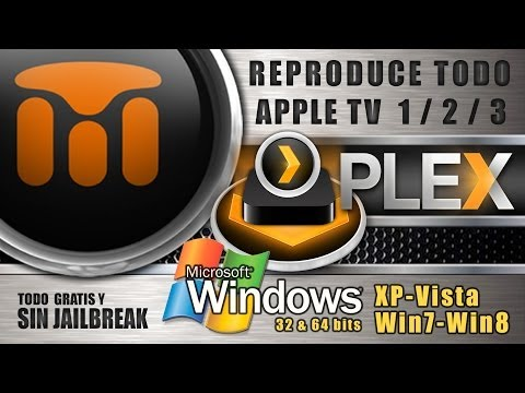 PLEX MULTIMEDIA PARA APPLE TV 1/ 2/ 3/ - WINDOWS (2014)