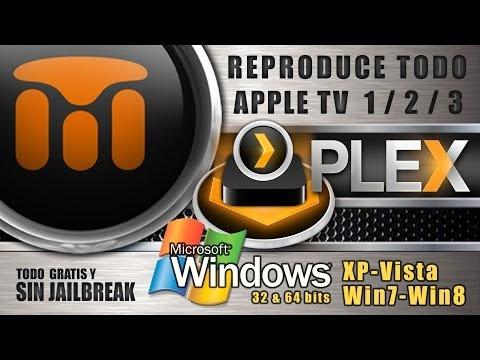 PLEX MULTIMEDIA PARA APPLE TV 1/ 2/ 3/ - WINDOWS (2014)