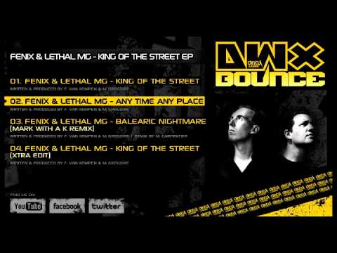 DWX Bounce! Fenix & Lethal MG - King Of The Street EP (preview)