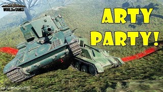 World of Tanks - Funny Moments | ARTY PARTY! #48