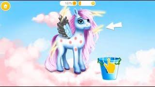 Pony Girls Horse Care Resort 2 Style & Dress Up Kids Baby Games Makeover Care Gameplay