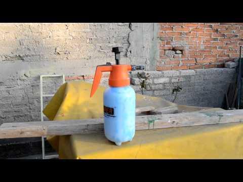 como hacer mini extintor para graffiti