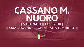 [Qual. Round] Coppa Italia F: Cassano Magnago - Nuoro 33-19