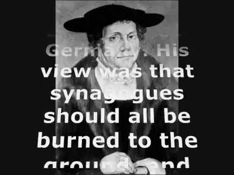 luther anti semitism Martin luther (1483-1546), a german reformation leader, had a significant influence on german antisemitism by his harsh anti-jewish statements and writings in the twentieth century these were used by the nazis in their antisemitic propaganda.