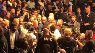 UFC 223 Khabib ring entrance