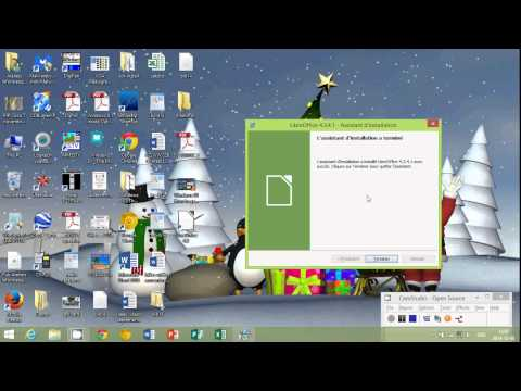 Windows 8.1 Libre office free microsoft office replacement how to install