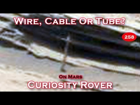 Cable Or Tube Found Near Mt Sharp By NASA's Curiosity Rover