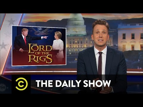 The Daily Show - Donald Trump Hints at a Not-So-Peaceful Transfer of Power