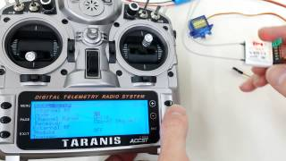 How to bind FrSky V8R7-II to Taranis X9D