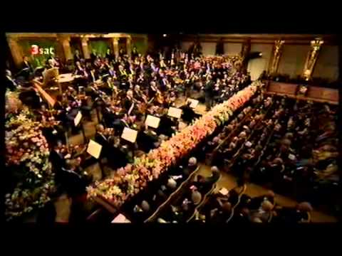 Zubin Mehta. Vienna New Year concert 2007 (PART 1)