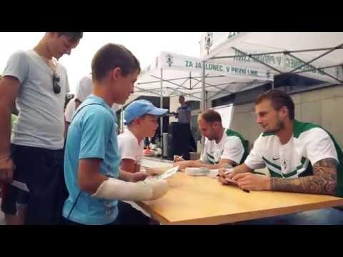 Jablonec žil fotbalem v den utkání se Slováckem