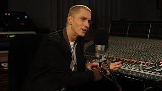 Eminem Video - Eminem. Zane Lowe. Part 2.