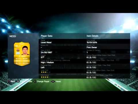 FIFA 14 ОТКРЫТИЕ ПАКОВ Messi в паке PS4